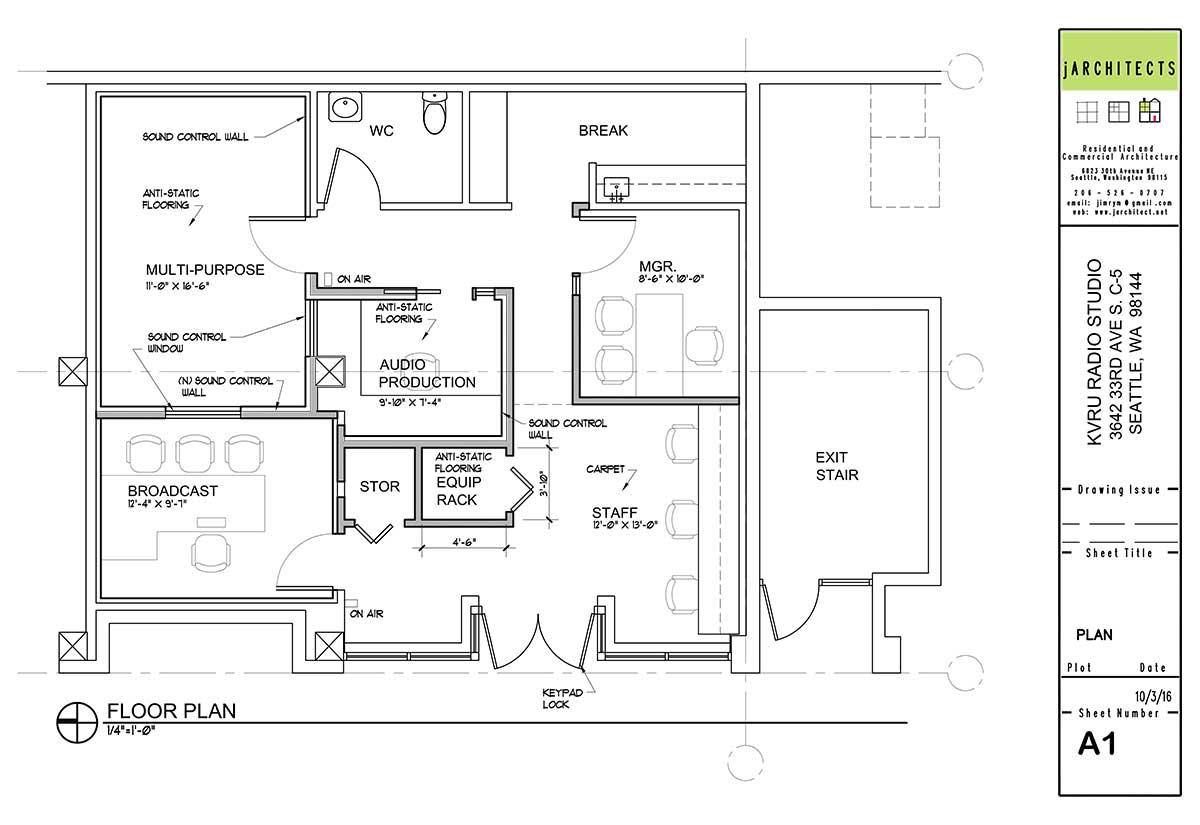 KVRU Floor Plan